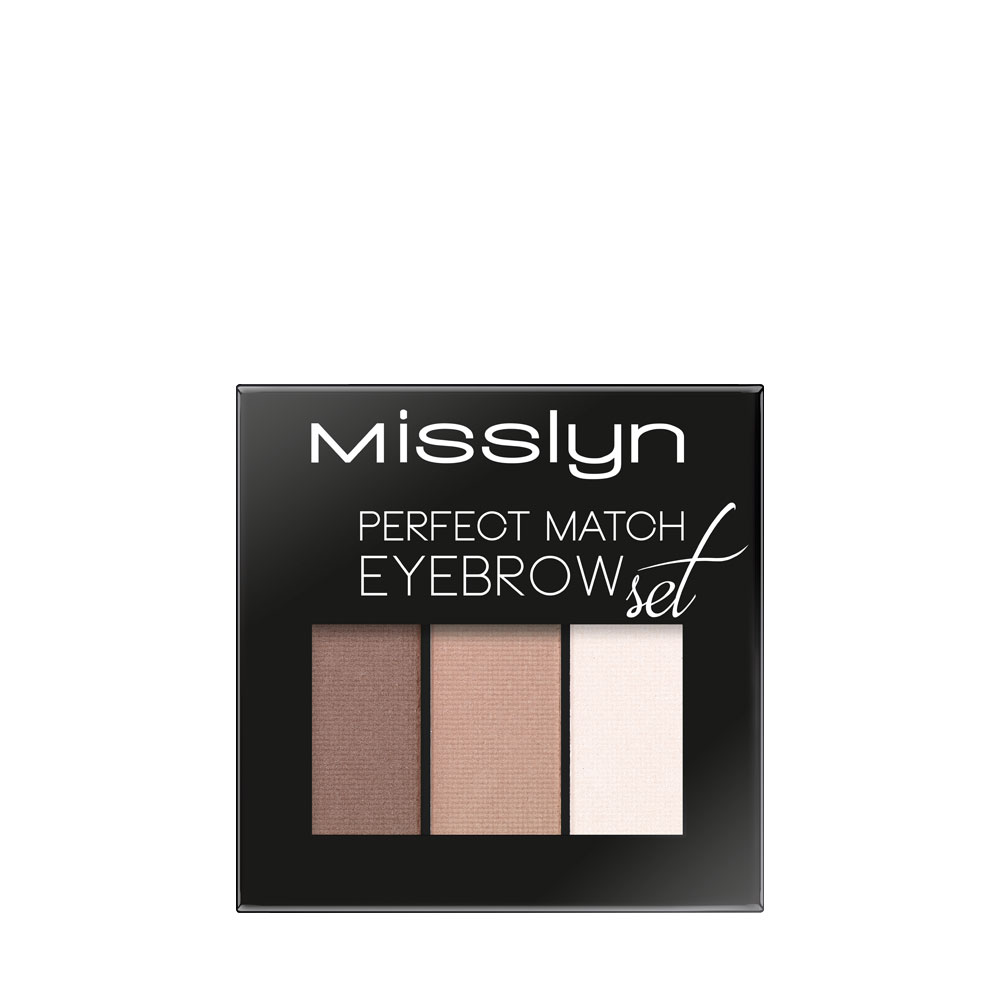 Eyebrows With Wow Effect Misslyn Eye Brow Perfect Match Eyebrow Set